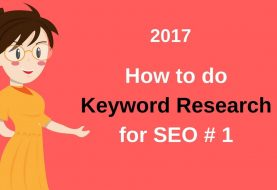 How to do keyword research for SEO - 2017 ( Hindi / Urdu)