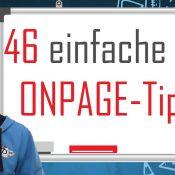 46 einfache SEO Onpage-Tipps, die du 2017 beachten solltest – SEO Dienstag #18