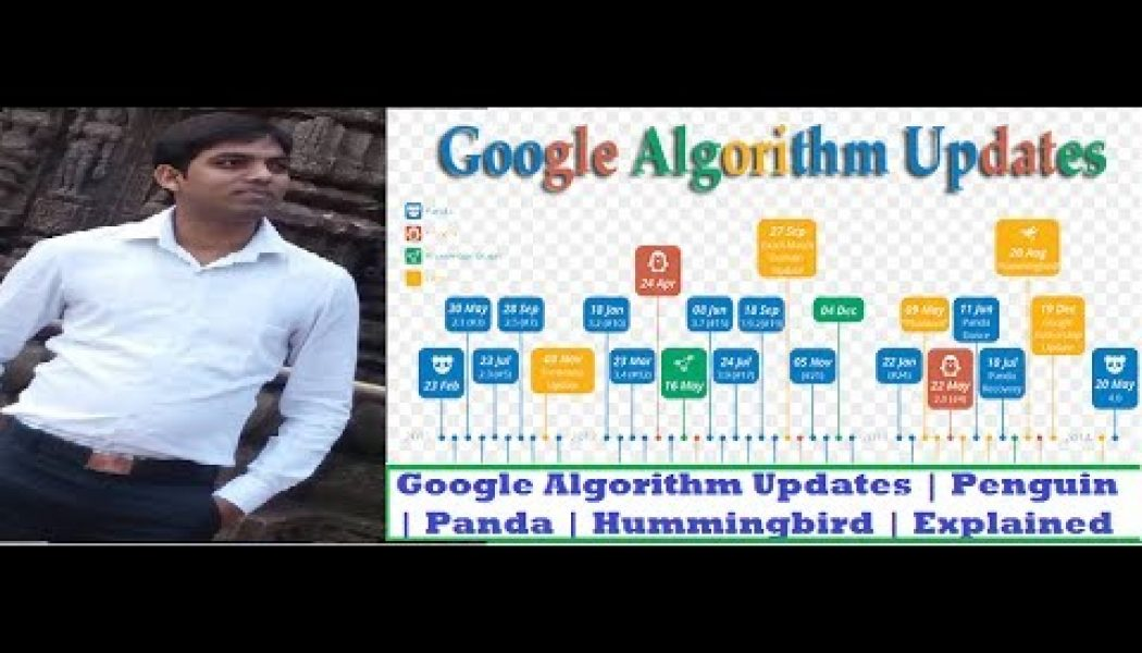 Google Algorithm Updates in hindi | Penguin update| Panda update | Hummingbird update | Explained