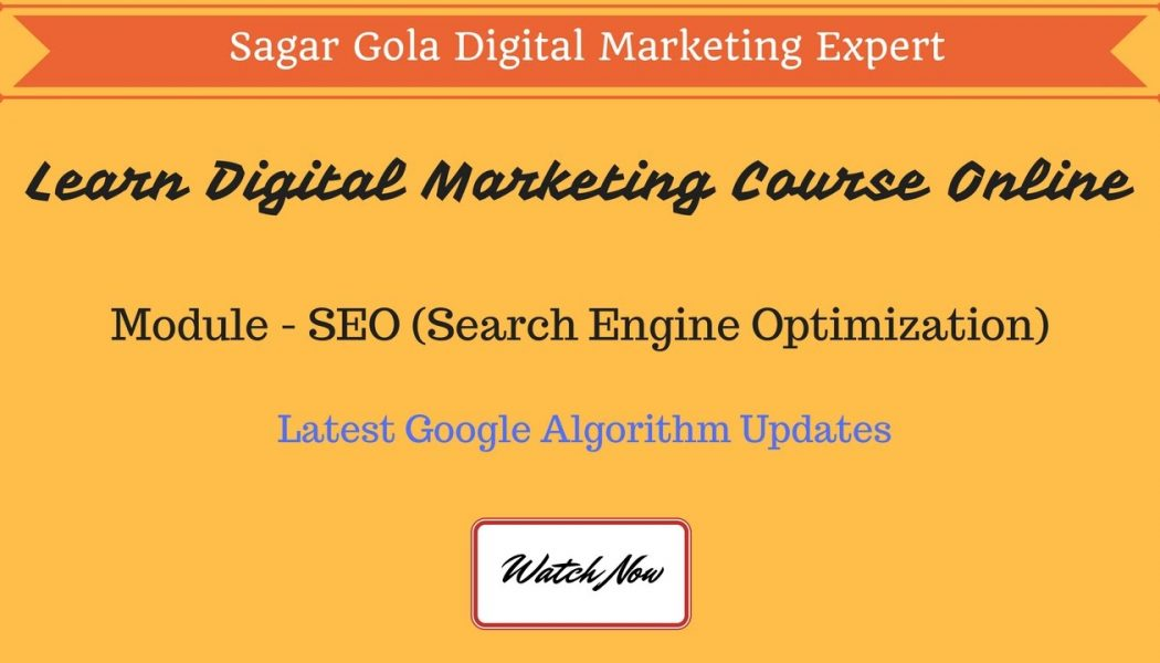 What is Latest Google Algorithm updates – Panda, Penguin, Pigeon, Hummingbird – Hindi