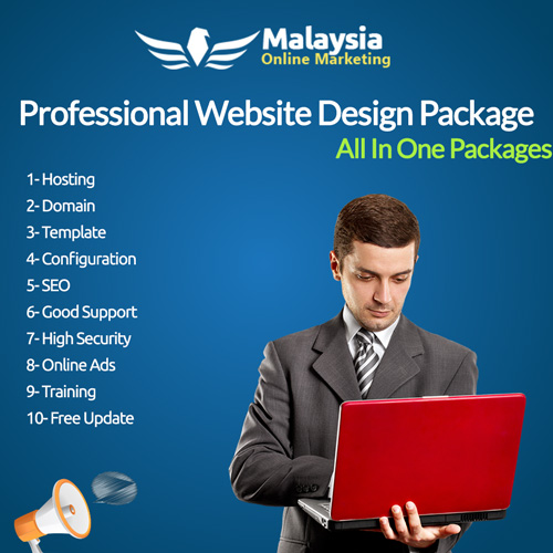 Malaysia Pro Package Website Design