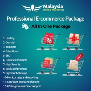 Malaysia Professional E-commerce Package