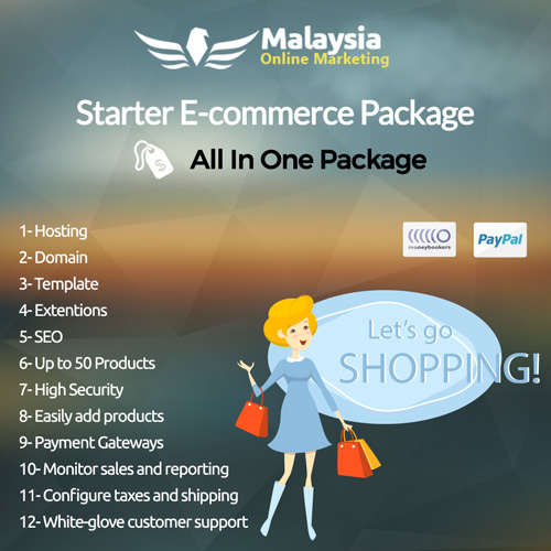 Malaysia Starter E-commerce Package