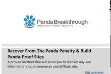 Google Panda Secrets