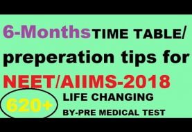 6 MONTH PREPARATION TIPS|NEET-2018|Topper's tip|AIIMS|YOUTUBE SEO|AAKASH