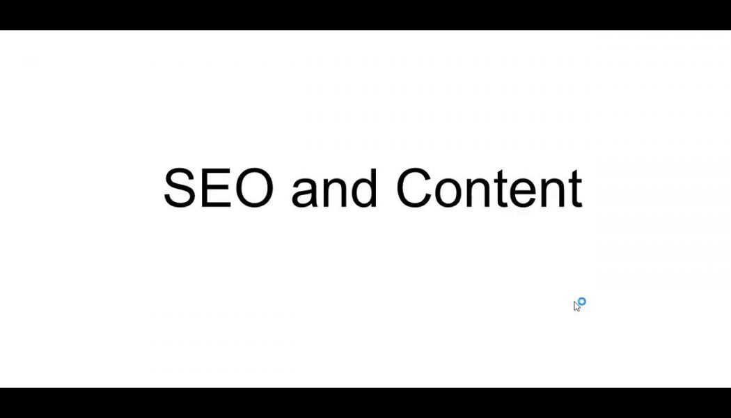 #7 2018 SEO Basics for Beginners – Important Rules and Content