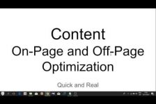 #8 2018 SEO Basics – Content Marketing On Page and Off Page SEO Guide