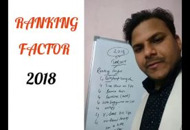 9 Most Important SEO Ranking Factor 2018