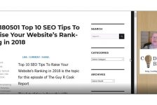 20180501 Top 10 SEO Tips To Raise Your Website's Ranking in 2018